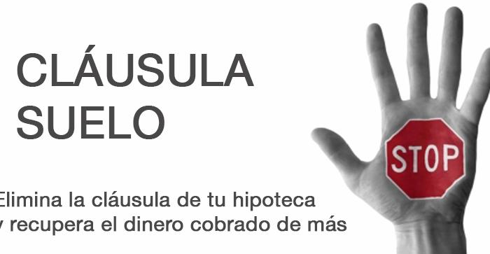 Cl usula suelo abogados especializados madrid for Clausula suelo badajoz