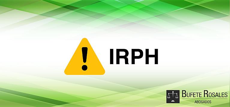 Irph bufete rosales despacho de abogados profesionales for Recuperar dinero clausula suelo