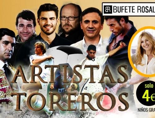 XXV Partido Benéfico de Navidad Artistas vs Toreros – 30 de diciembre de 2017 (Móstoles)