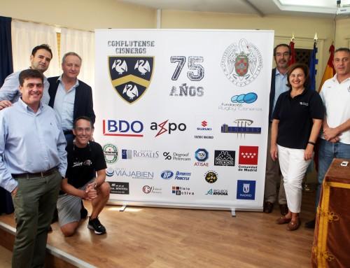 Bufete Rosales, patrocinador de la 75ª temporada del Club de Rugby Complutense Cisneros