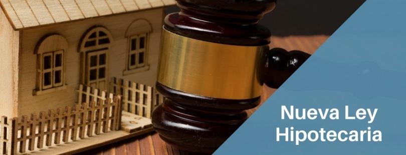 Resultado de imagen de nueva Ley Hipotecaria