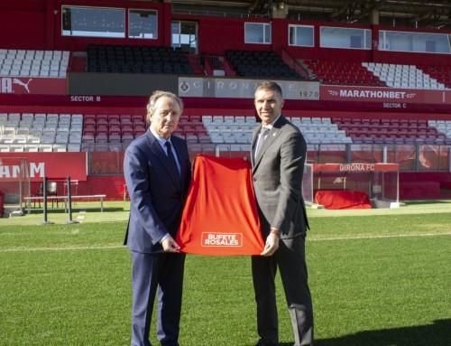 Bufete Rosales, nuevo patrocinador del Girona F.C.